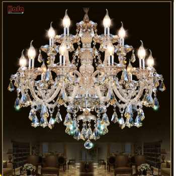 Modern Crystal Chandelier Living Room lustres de cristal Decoration Tiffany Pendants and Chandeliers Home Lighting Indoor Lamp - DISCOUNT ITEM  30% OFF All Category