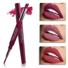 MISS ROSE – rouge à lèvres waterproof, 20 couleurs, crayon longue durée, maquillage nude, cosmétiques pour femmes