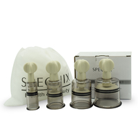 4PCS Multi Size Twist Vacuum Suction ABS Cups Family Home Use Body Relaxing Therapy Massage Health