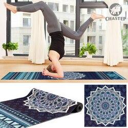 100% Non Tossico Materiali IN PVC 6mm Spessore Chastep Design Unico Sport Esercizio Mats Yoga per Fitness Ginnastica Con Lo Yoga borsa