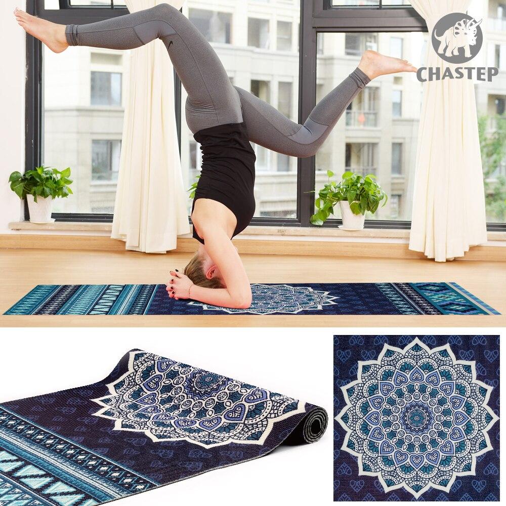 100% materiales de PVC no tóxicos 6mm de espesor chasap diseño único  deporte ejercicio Yoga esteras para Fitness gimnasia con bolsa de Yoga en  Esterillas de ... 605ae55eb2e5