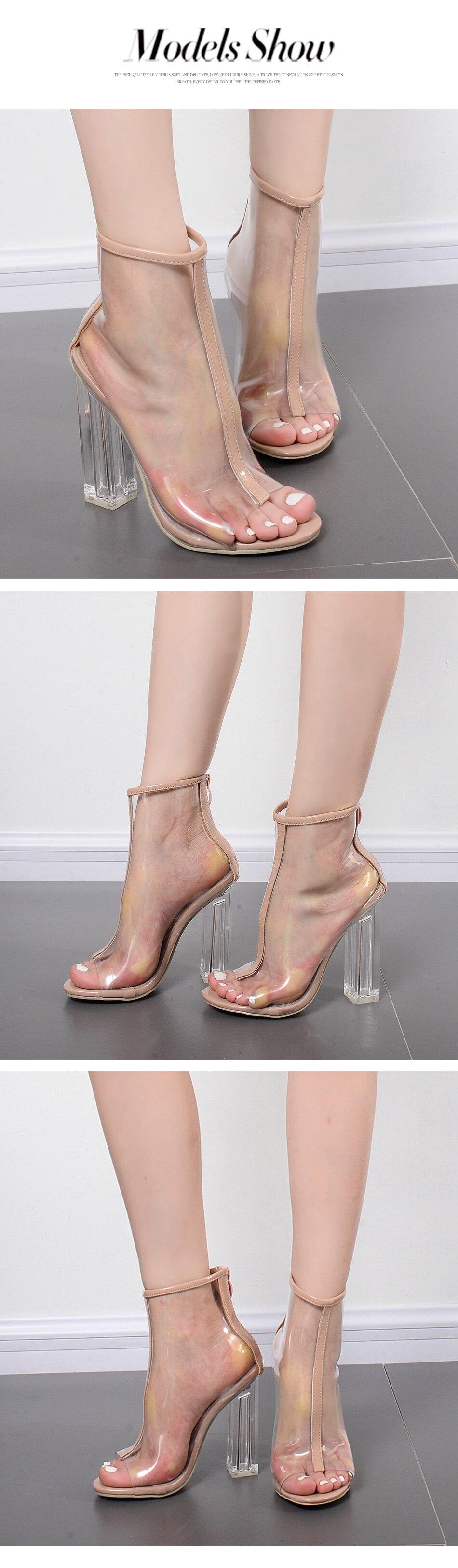 women boots thick heels