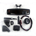 Auto headlight switch+Rain Light Wiper Sensor+ Rear View Mirror Fit For Tiguan Jetta MK5 5 Golf MK6 VI