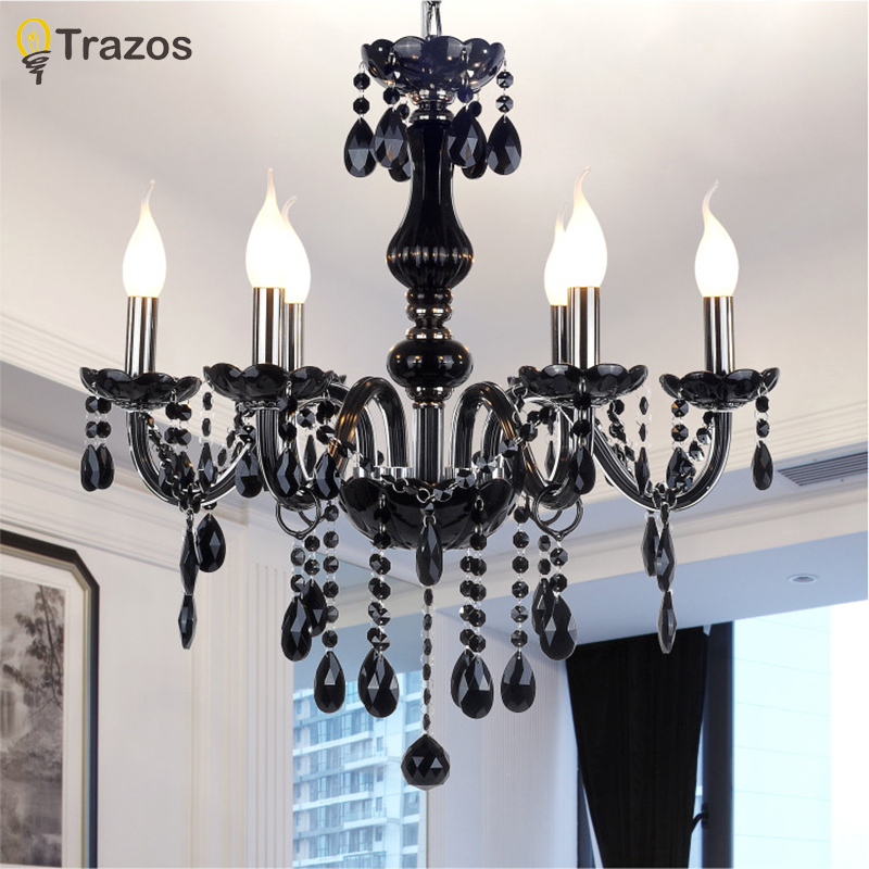 New Modern led crystal chandeliers for kitchen room Livingroom Bedroom Gray Color K9 crystal lustres de teto ceiling chandelier modern crystal chandelier hanging lighting birdcage chandeliers light for living room bedroom dining room restaurant decoration