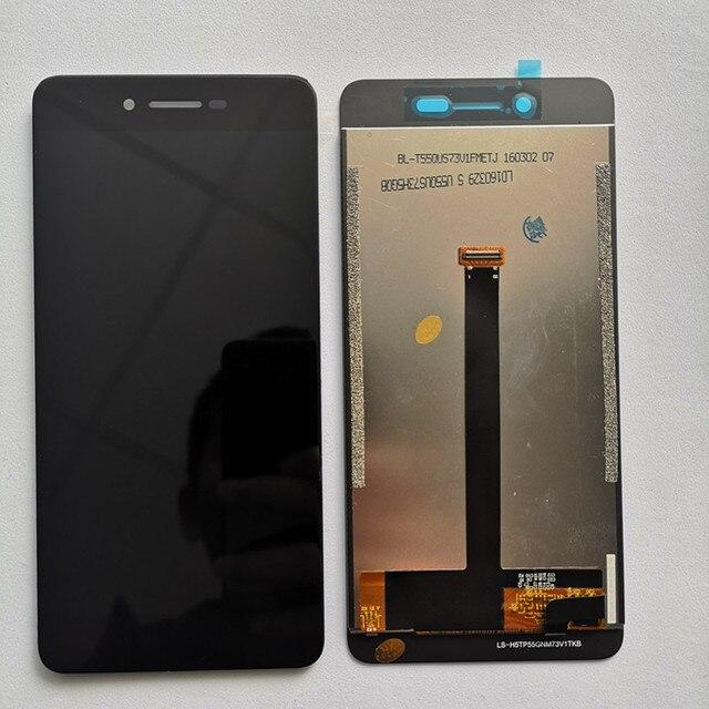 """מקורי עבור Vernee מאדים 5.5 """"FHD LCD תצוגה + מגע מסך פנל דיגיטלי החלפת חלקי עצרת זכוכית + כלים"""