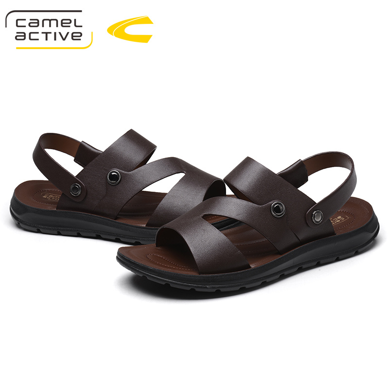 Camel Active 2019 New Genuine Leather Quick-Dryin Sandals Summer Quality Casual Sneakers Anti-Slippery Outdoor Beach Shoes 18111