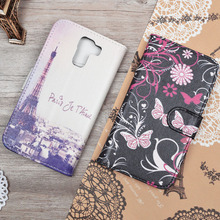 Cute Cartoon Case For Huawei Honor 7 Filp Wallet Leather Case For Huawei Honor 7 PLK-L01 Luxury Kickstand Cover Phone Bags&Cases