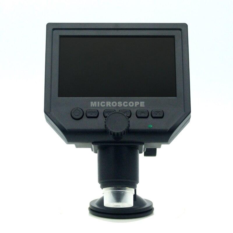 Преносиви ЛЦД дигитални 600Кс увећани микроскоп са 4-инчним ХД ОЛЕД екраном са уграђеном батеријом и вишејезичном подршком