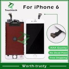 10 шт./партия Высокое качество 4,7 дюймов для iPhone 6 lcd клоны полный дисплей с сенсорным экраном дигитайзер замена DHL