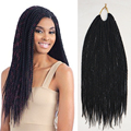 100 Kanekalon Braiding Hair Extensions Ombre Two Tone Crochet Braid Senegalese Twist Braid Hair Crochet Synthetic Hair Weave