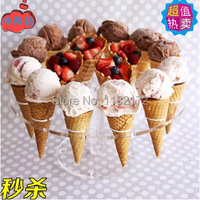 Free Shipping About Cake Candy Holder Transparent Acrylic Ice Cream Display Stand 16 Holes
