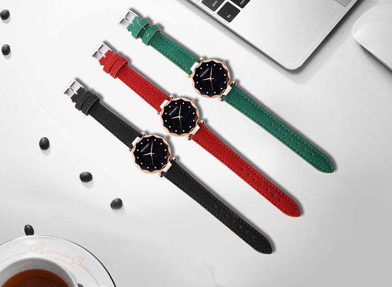 relojes mujer 18 Luxury Brand Gogoey Women Watches Personality romantic starry sky Wrist Watch Rhinestone Design Ladies Clock 30
