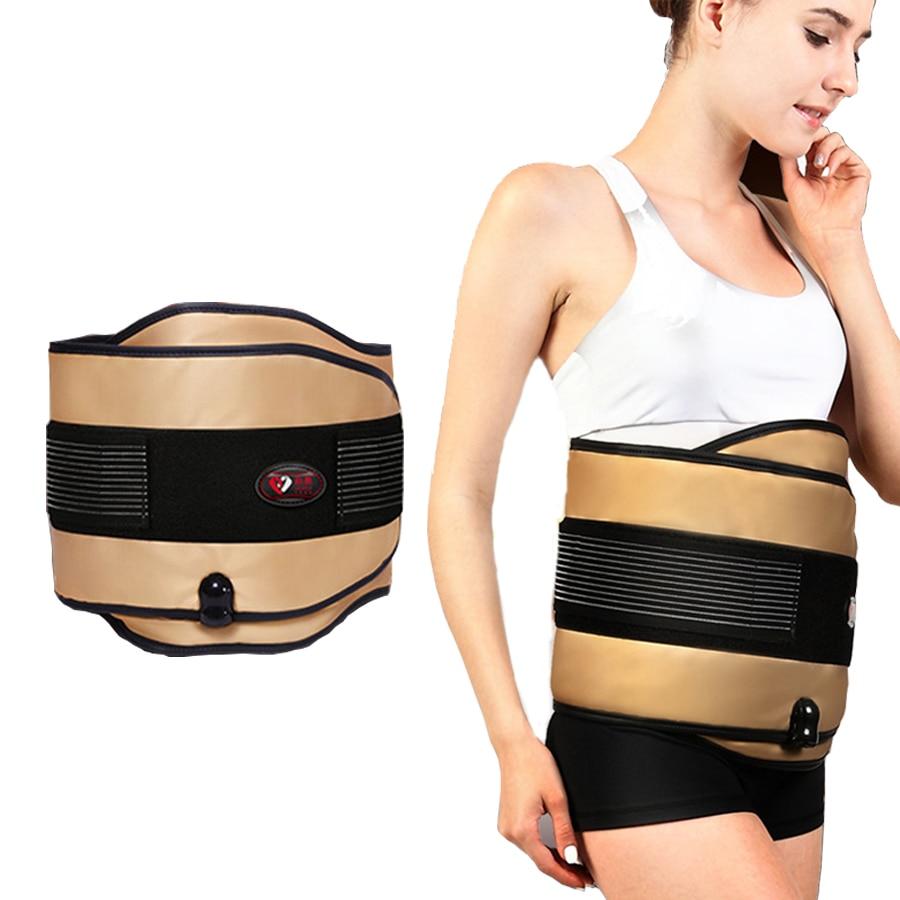 電気振動加熱痩身マッサージベルト減量緩和腰椎痛み暖かい腹子宮遠赤外線灸ベルト  グループ上の 美容 & 健康 からの マッサージ & リラクゼーション の中 1