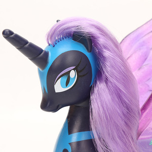Image 5 - 22cm My Little Pony Toys Princess Celestia Glitter Luna Rainbow Dash Princess Cadance PVC Action Figures Collectible Model Dolls