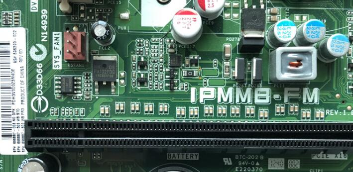 100% Working Desktop Motherboard For IPMMB-FM 696399-002 696887-002 rev 1.03 LGA 1155 System Board Fully Tested