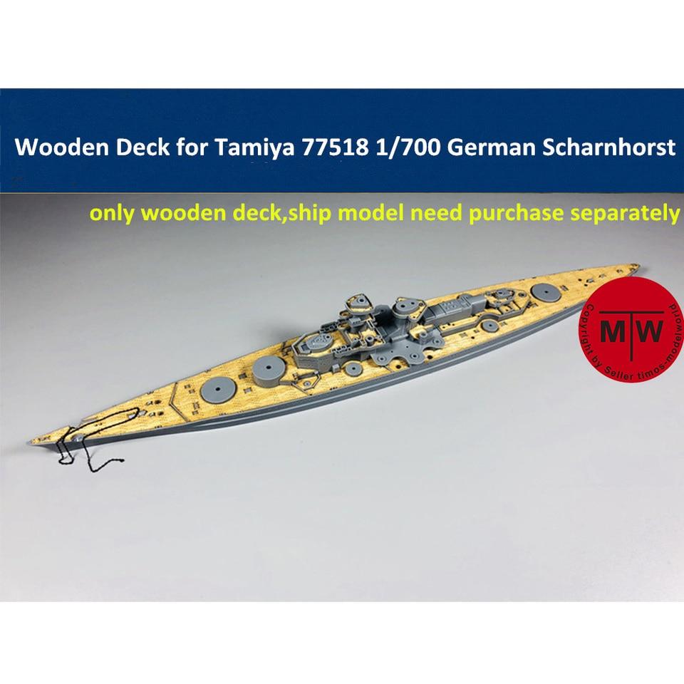 Hunter W70021 1//700 Greman Navy Battleship GNEISENAU Wooden Deck For TAMIYA