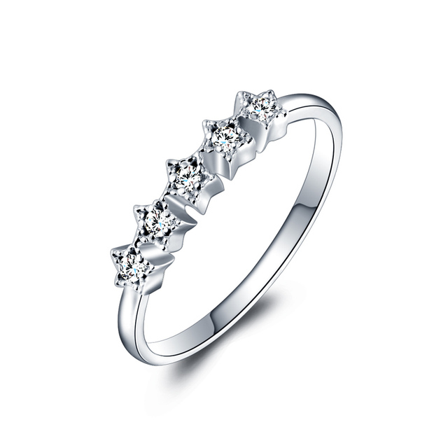 palladium shape rings light wedding star image court ring