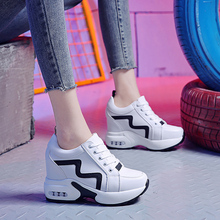 10cm High Heels Spring Women Sneakers Su