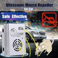12V Special Rodent Repellent Ultrasonic Electronic Cat Car Rodent Control Rodent Killing And Rat Catching For Car House Garage