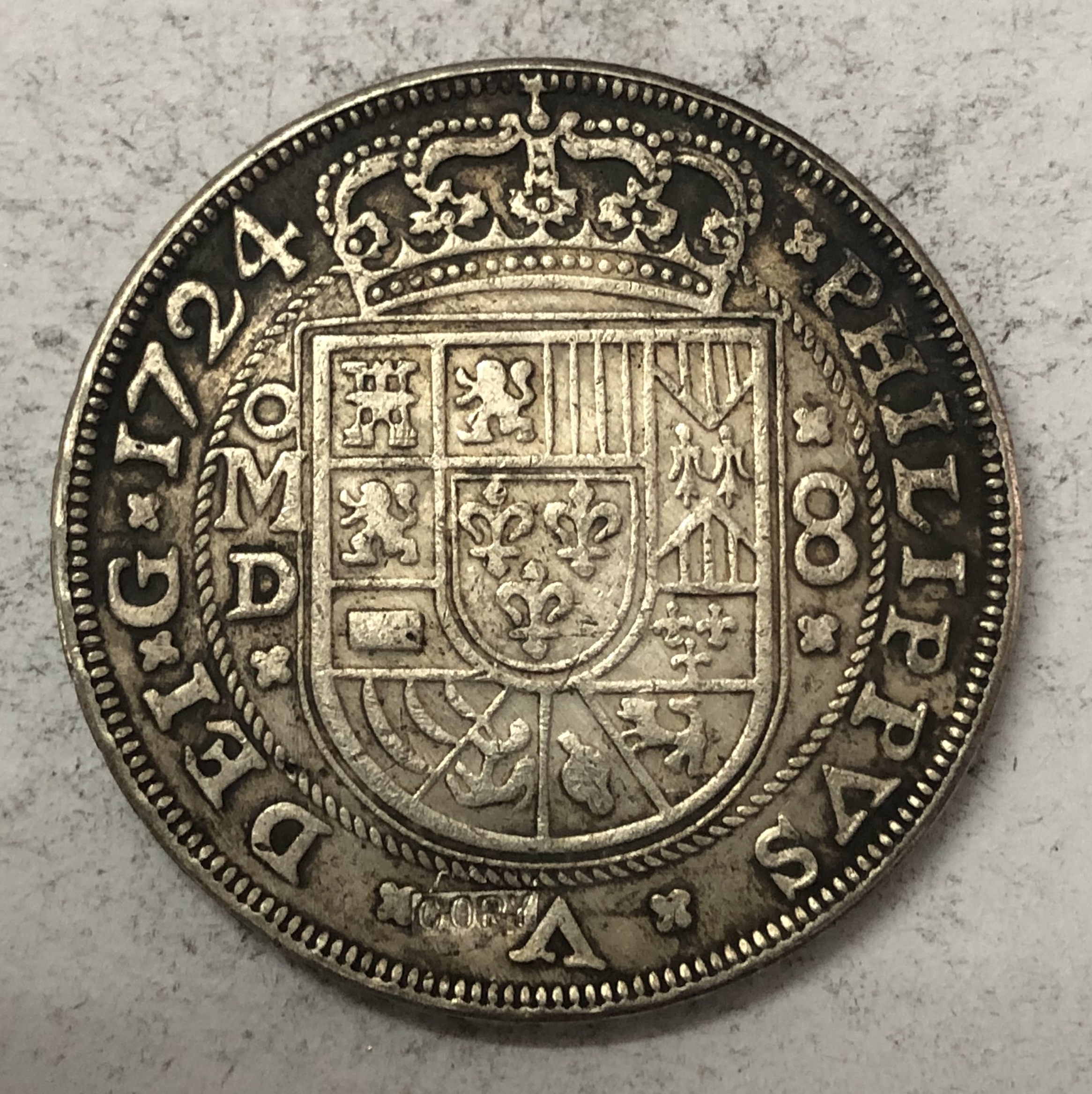 foto de top 10 largest felipe v coin reales list and get free shipping - a263