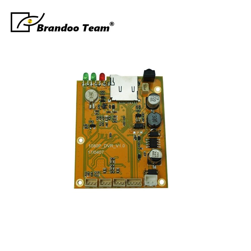 TVI 1080P AHD Mini DVR Board 1CH CCTV DVR Motherboard DVR Module цена 2017