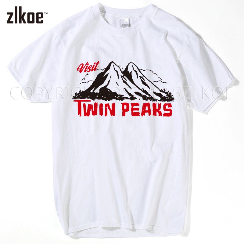 Hot sell 2017 new fashion brand men clothes twin peaks t for How to sell t shirts