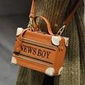 Women shoulder bags fashion 2017 new casual PU box bags panelled flap messenger bag lock mini sweet ladies cross body bag 928