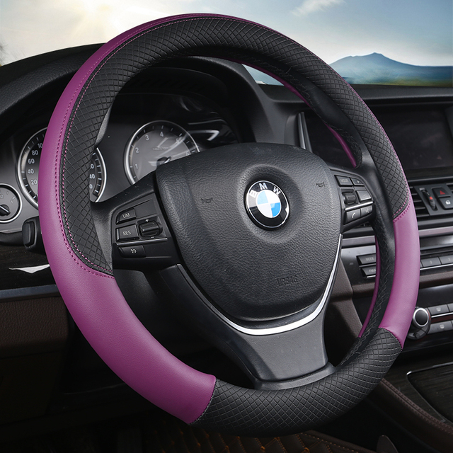 Sport Auto Steering Wheel Covers Automotive Accessories Universal 38CM Car Steering wheel Cover Anti Slip Car styling