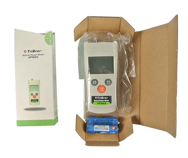 Envío Libre AMP60 Tribrer Medidor de Potencia Óptica-70 ~ + $ number db