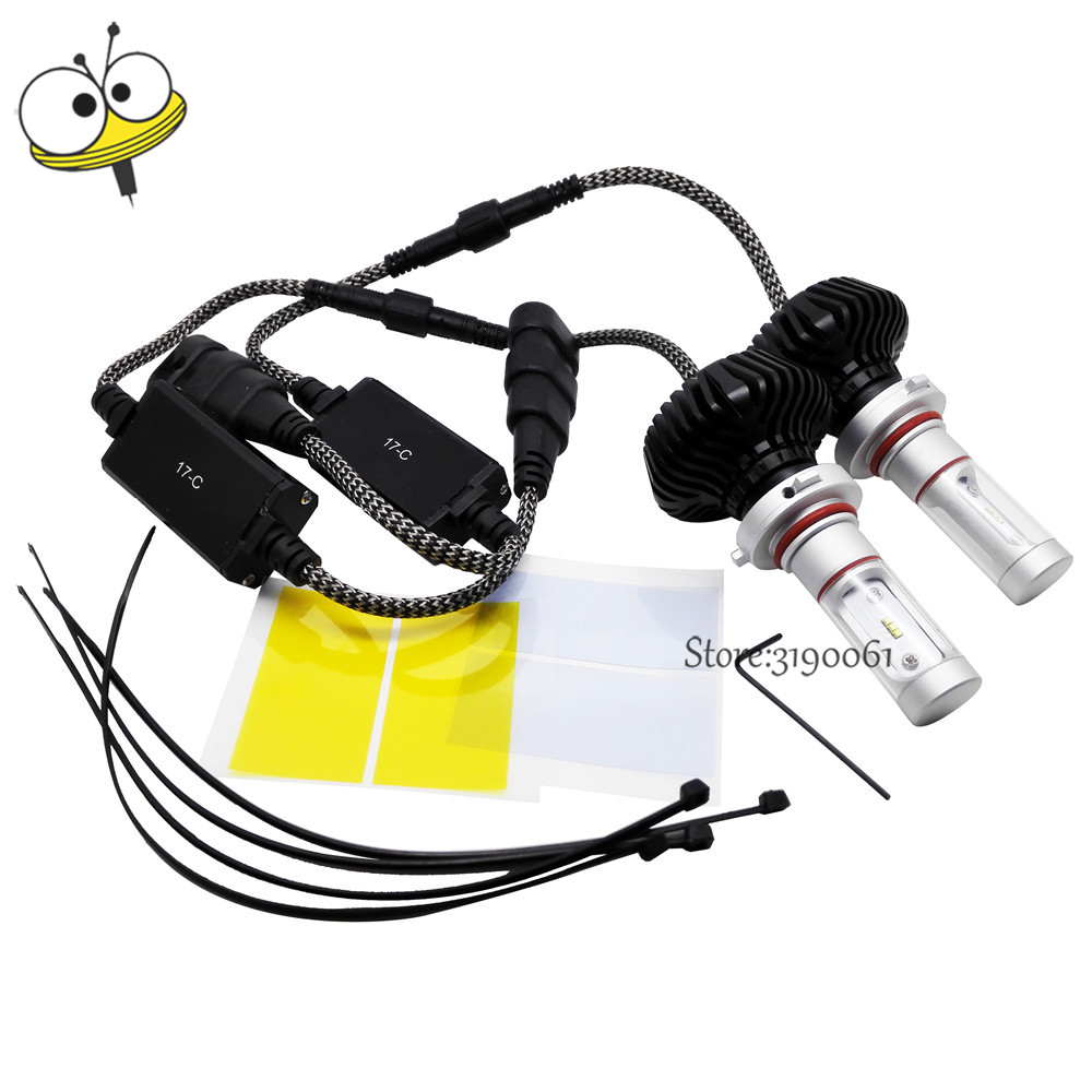Car Light Headlight Bulb Auto Led Chip Lamp 30W 6000k 9006  Headlamps for Peugeot Mini Cooper Citroen Jeep Vauxhall Dodge BMW tcart 2x 9005 hb3 9006 hb4 dual color car led headlight white yellow headlamp bulbs fog lamps for plips chip 36w auto led light
