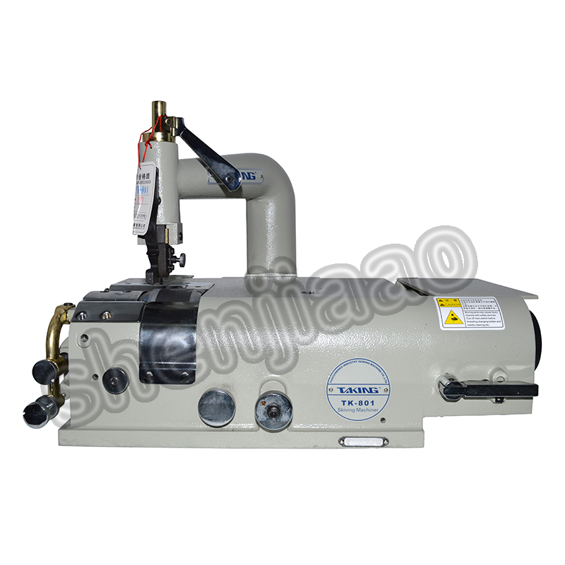 110V/220V TK 801 Leather Skiving Sewing Machine for Edge Scraping Synthetic Leather Shoes Plastic Articles 1PC