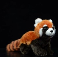 Free shipping Red panda doll cute panda doll simulation Panda toys simulation animal plush toys