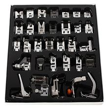 32 Piece Home Sewing Parts Presser Foot Sew Accessories Press Feet high quality Kit Set Pro