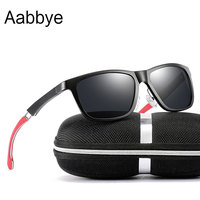 Aabbye 2019 Unisex Retro Aluminum+TR90 Sunglasses Polarized Lens Vintage Eyewear Accessories Sun Glasses