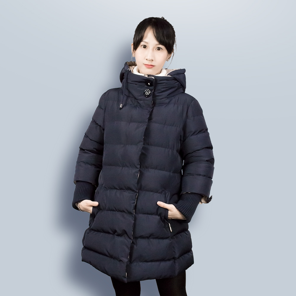 Women Maternity Winter Jacket Coat Thickening Cotton Coat for Pregnant Women in 0-3 month gestation period Hooded Woman Parkas women winter coat leisure big yards hooded fur collar jacket thick warm cotton parkas new style female students overcoat ok238