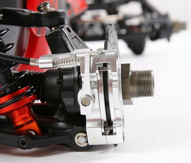 1/5 rc auto Baja teil hinterrad draht bremse brems für 1/5 skala hpi baja 5b 5 t sc könig motor truck - 4
