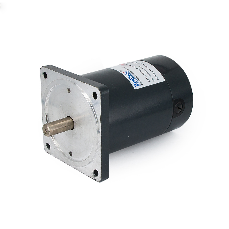 DC Motor ZYTD-80SRZ-9F1 12V24V, gear motor, all-metal gear, high torque and low noise motor new arrival top selling 555 metal gear motors 3v 6v 12v 24v dc gear 10 20 40 80 rpm motor high torque and low noise
