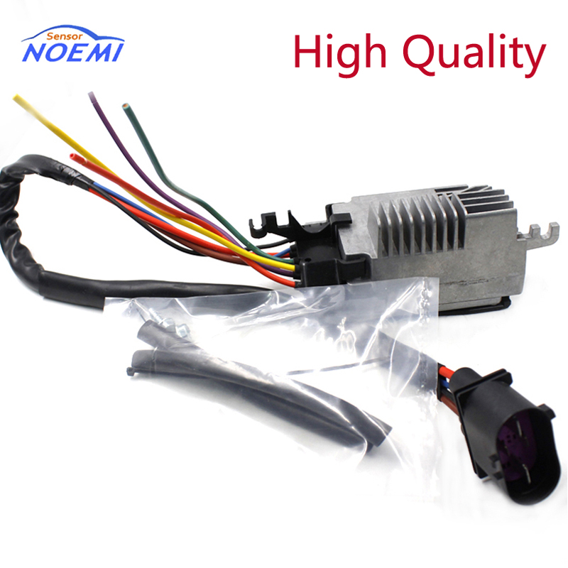 YAOPEI 8E0959501AG Car Radiator Cooling Fan Control Module for Audi A4/A4 Quattro 02 09 Plastic and Steel