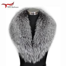 Winter New Large Size Shawl Women Real Fox Fur Sweater Collar Fashion Warm Outside Wearing Scarf Coat100% Fox Fur Scarf Hot Sale(China)