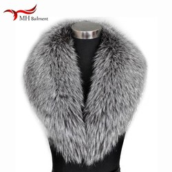 Winter New Large Size Shawl Women Real Fox Fur Sweater Collar Fashion Warm Outside Wearing Scarf Coat100% Fox Fur Scarf Hot Sale