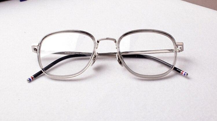 2017 thom tb906 Computador Lentes Redondas Óculos Ópticos Armações de óculos  Vintage Retro Óculos de Prescrição Oculos de grau em Armações de óculos de  ... da80f26404