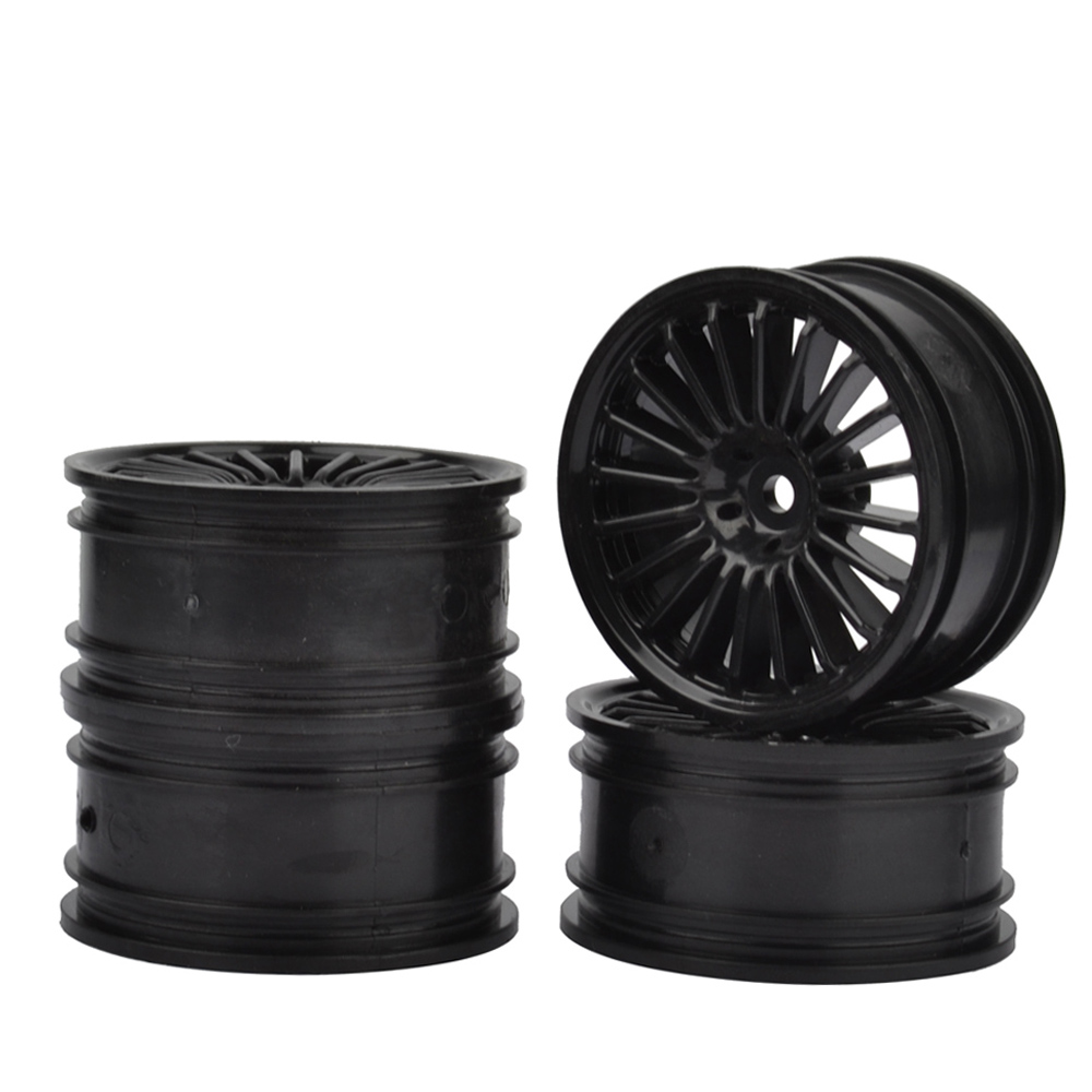 1:10 RC Car  Plastic Wheel Rims for RC HSP HPI Kyosho Tamiya 1:10 On-Road RC Car 4PCS morphological variation of jurassic bennettitaleans from sri lanka