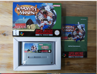 16Bit Games ** Harvest Moon ( Australia PAL Version!!  Box+Manual+Cartridge!! )