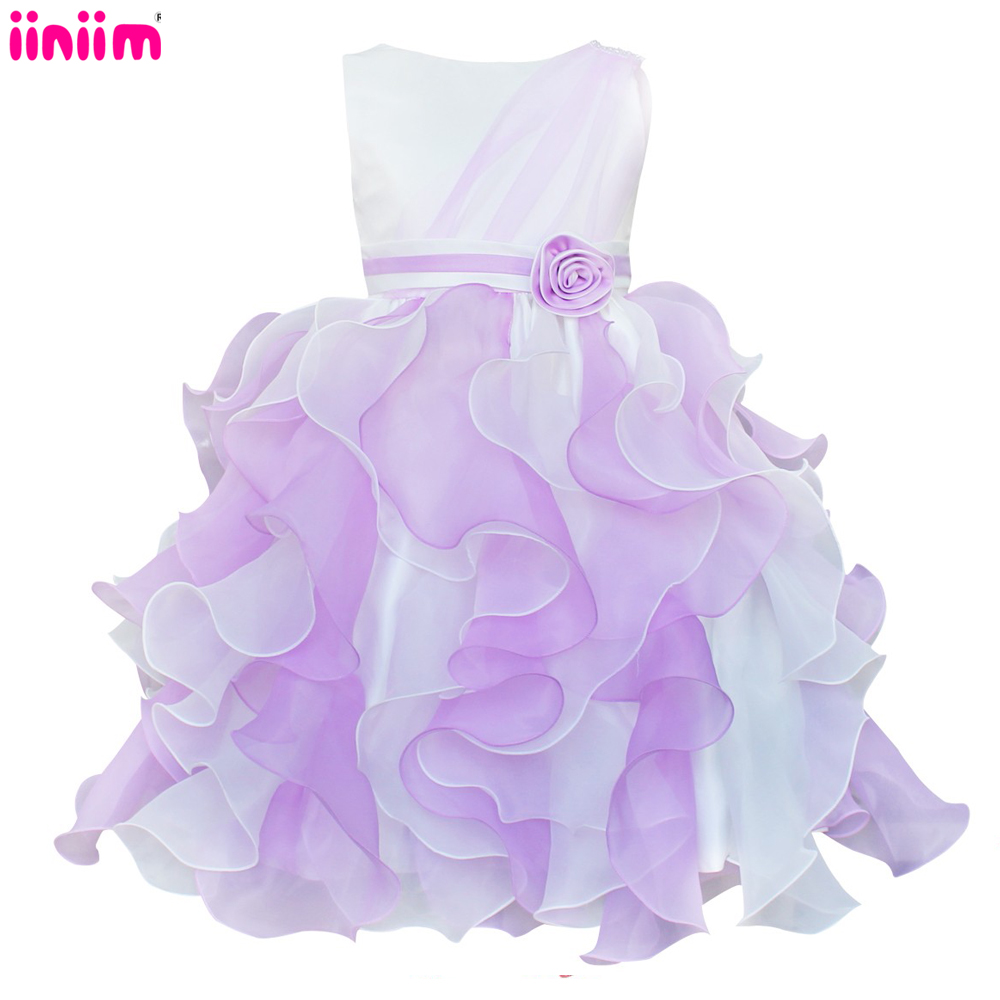 Popular purple bridesmaid dresses for children buy cheap purple iiniim baby princess bridesmaid flower girl dresses lace tutu kids children wedding party dresses for ombrellifo Gallery