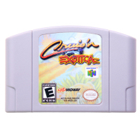 N64Game Cruis'n Exotica Video Game Cartridge Console Card English Language US Version (Can Save)
