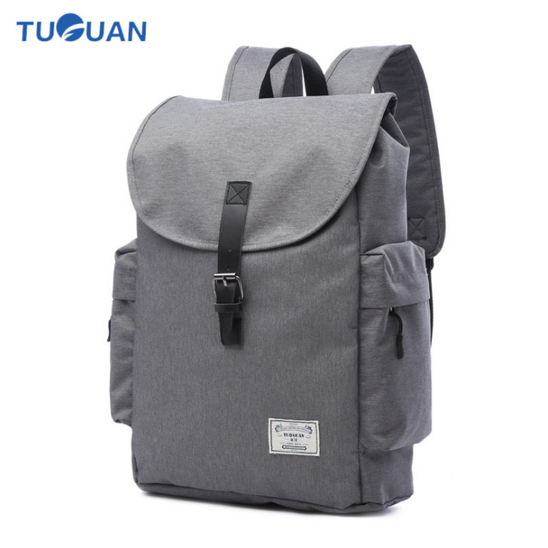 17 Inch Canvas Backpack Waterproof England School Bags Waterproof Laptop Backpack For School Bags Mochila Masculina
