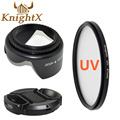 KnightX MC UV Объектив nd Фильтр Аксессуары для NIKON камеры D5100 d5200 D5300 d3300 D3200 D5 P600 A100 700d t5i t3i d5500 750d 52