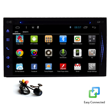 GPS Video Car DVD PC Autoradio Touch Screen Receiver Capacitive 1080P CAM Navigator Android 4.4 Car Stereo Mirror Radio