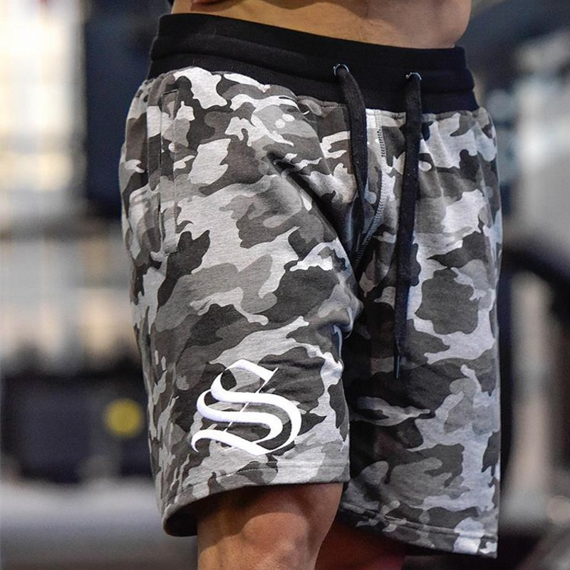 2018 Summer New Camouflage Shorts Men Cotton Causal Military Slim Fit Plus Size Brand Clothing Plus Size