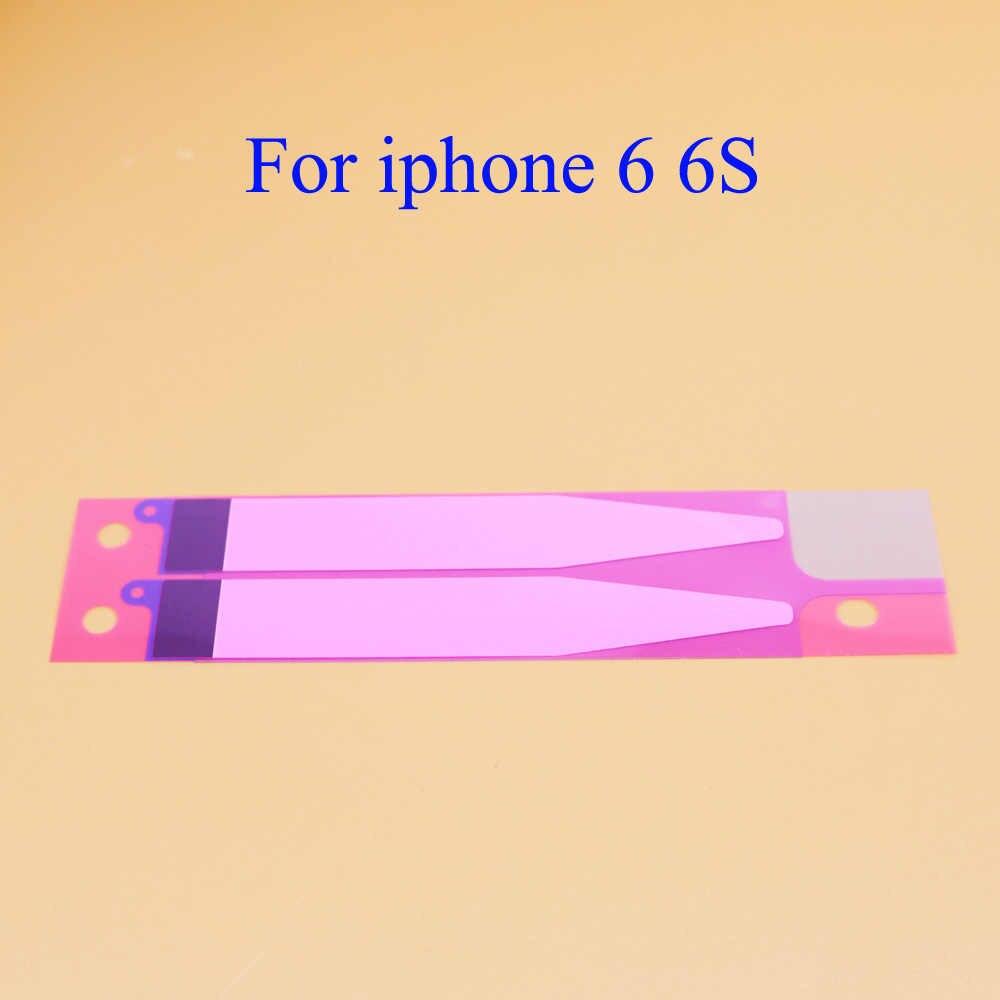 YuXi 1 stks Anti-Statische Batterij Adhesive Strips Sticker Voor iPhone 6 6 s inch Batterij Lijm Tape Strip tab Vervanging Deel
